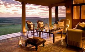 Glamping in South Africa. Photo by gorah.hunterhotels.com