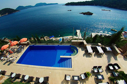 How to Stay on a Castaway Island: Hotel Bozica, Croatia.