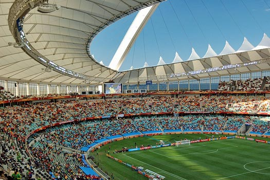 Moses Mabhida Stadium, Durban. Photo by jit bag