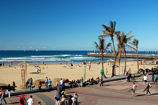 Durban North Beach. Photo by jit bag