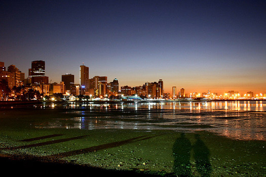 Reflections over Durban. Photo by Marc Forrest
