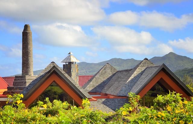 Rhumerie de Chamarel Roofline